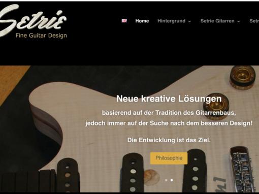 Setrie Fine Guitar Design